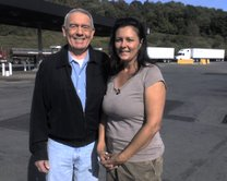"Dan Rather Interview - ""Queen of the Road"""